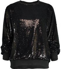 mircro sequin sweatshirt