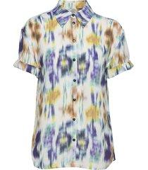 moanna blouses short-sleeved multi/patroon baum und pferdgarten