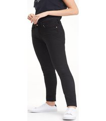 jeanss como heritage skinny fit negro tommy hilfiger