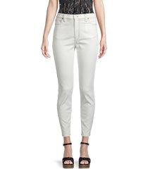 iro women's valkoi high-rise skinny jeans - white - size 24 (0)
