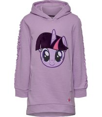 dress with long sleeves hoodie lila my little pony