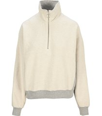 helmut lang collared sweatshirt
