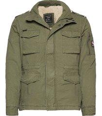 classic rookie jacket dun jack groen superdry