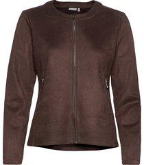 frmasuede 1 jacket blazers casual blazers brun fransa