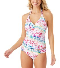 tommy bahama reversible halter tankini top women's swimsuit