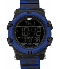 reloj azul cat crossfire digital