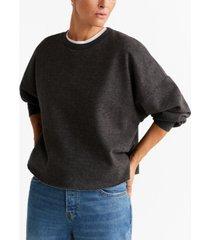 mango basic cotton sweater
