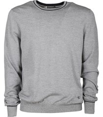 fay elbow patch sweater