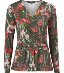 topp nice83floa blouse