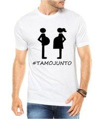 camiseta criativa urbana gestantes frases engraçadas papai