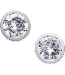 alfani cubic zirconia stud earrings, created for macy's