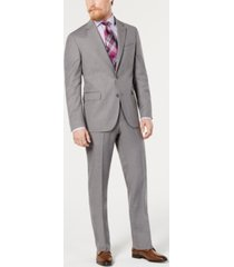 dockers men's classic-fit step-weave suit