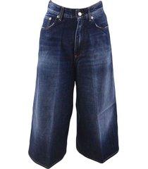 5-pocket wide jeans