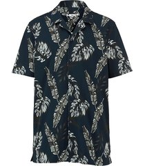 overhemd men plus marine::olijf::wit