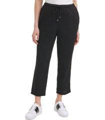calvin klein cotton pull-on pants