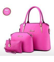 11 color women shoulder bags new style large handbags,purse 3 bags b12-5