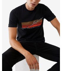 men's big and tall retro logo short sleeve t-shirt