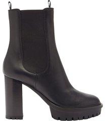 calf glove boots