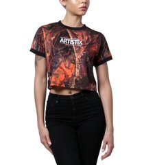 artistix short-sleeve art t-shirt