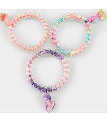 astrid tie dye hair coils - multi