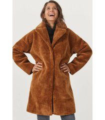 fuskpäls coat myra