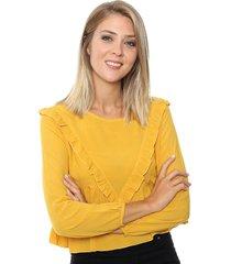 blusa mostaza la cofradia kigali