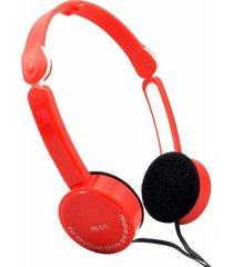 fe-111 plegables audífonos para juegos con cable-rojo