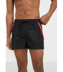calvin klein underwear short drawstring badkläder svart