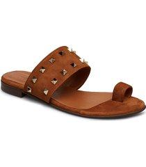 sandals 8702 shoes summer shoes flat sandals brun billi bi