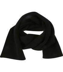 maison margiela signature logo scarf