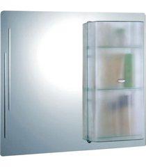 armário cris acrílico ii 424 - 70x64cm - cris metal