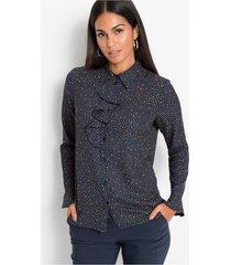 gedessineerde blouse met volant