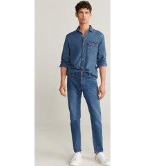 denim regular-fit overhemd medium