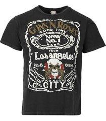 guns n' roses t-shirt black