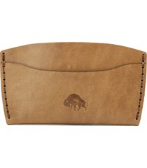 ezra arthur no. 3 leather card case in whiskey at nordstrom
