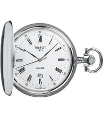 men's tissot savonnette pocket watch, 48mm