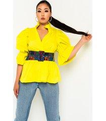 akira dare you long sleeve button down blouse