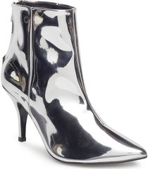 zoe shoes boots ankle boots ankle boots with heel silver henry kole