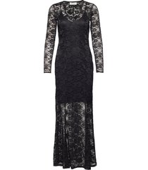 dress ls maxiklänning festklänning svart rosemunde