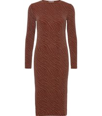 jenara dress 12821 knälång klänning orange samsøe samsøe