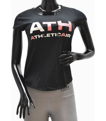 ***camiseta dama-negro  athletic air l