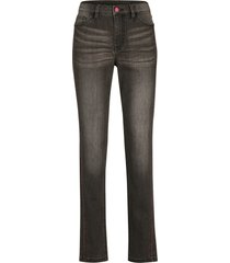 jeans elasticizzati con cinta comoda e impunture a contrasto (grigio) - bpc bonprix collection