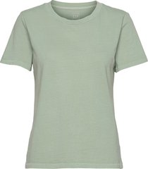 100% organic cotton vintage t-shirt t-shirts & tops short-sleeved grön gap