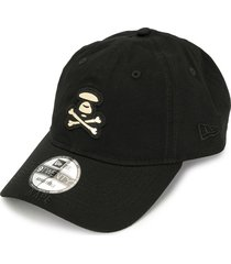 aape by *a bathing ape® logo embroidered cap - black