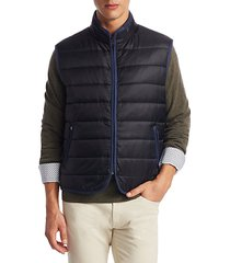 collection quilted zippered vest