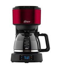 cafeteira oster day light red programável - 220v