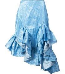 melted frill skirt