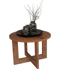 mesa centro 8001 luxo canela madeirado móveis jb bechara