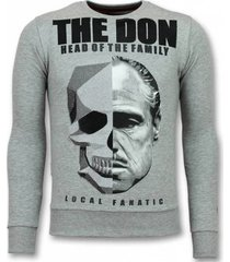 sweater local fanatic godfather trui - godfather sweater - the don -