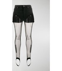 y/project shorts with tights